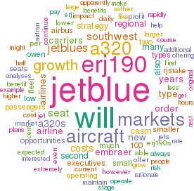 Aviation Strategy - JetBlue: Rationale behind the Embraer order