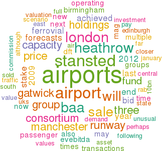 Aviation Strategy - Trading airports - value indicators